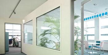 Fenster innenraum  Objektbau | Metallbau Huber GmbH & Co.KG